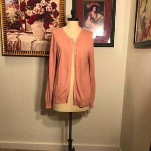 Beautiful peach loft cardigan